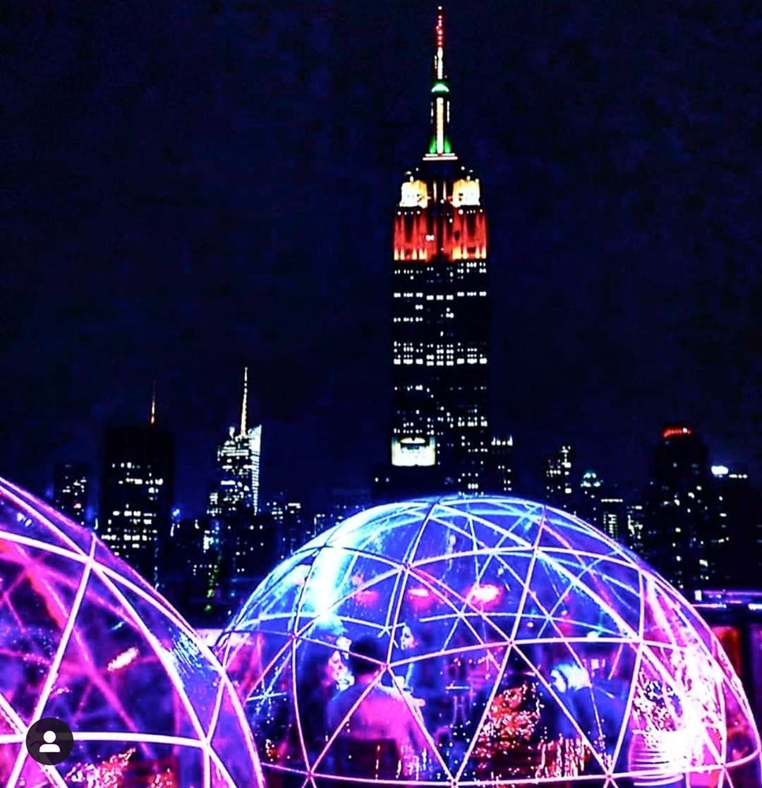 """230 Fifth Rooftop Bar NYC on Instagram: """"The igloos are ..."""
