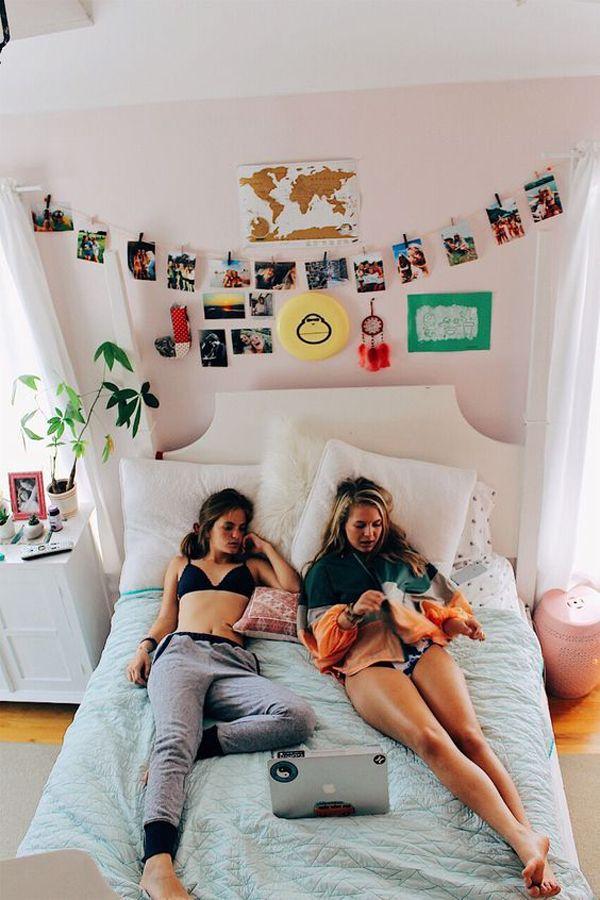 20 Ideen für hübsche Schlafsäle für beliebte Mädchen