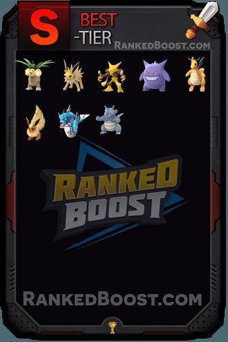 Pokemon GO Tier List of The Best Pokemon GO Max CP Cost Per