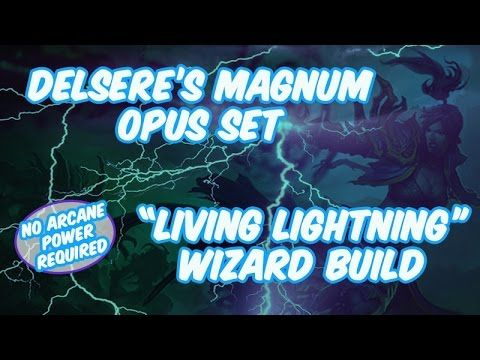 Diablo 3 Living Lightning Wizard Build No Arcane Power