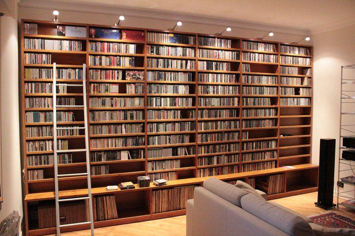 Libreria Porta Cd Porta Vinili Library Pinterest