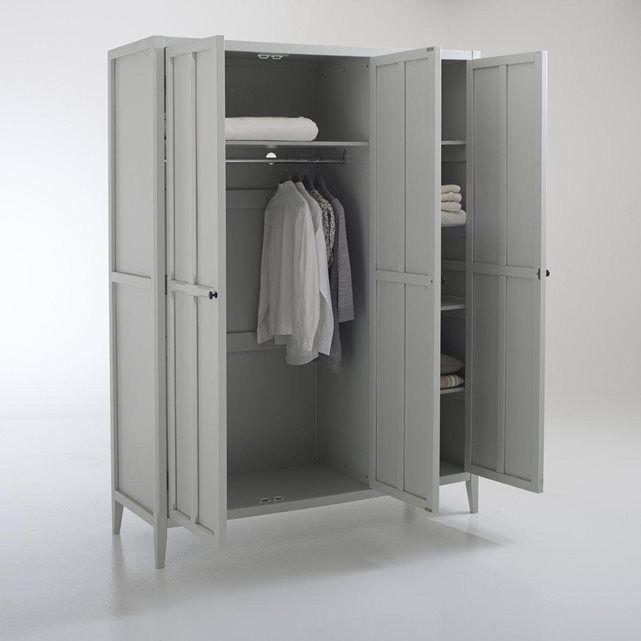 Armoire 3 portes, Eugénie | Armoire - dressing | Armoire 3 portes ...
