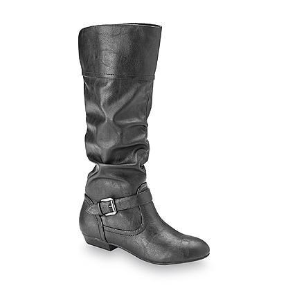 Bongo Women's Embry Black Riding Boot