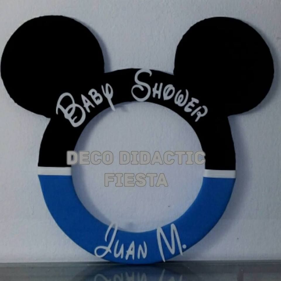 Perfect Mickey Mouse, Marco Para Fotos Baby Shower