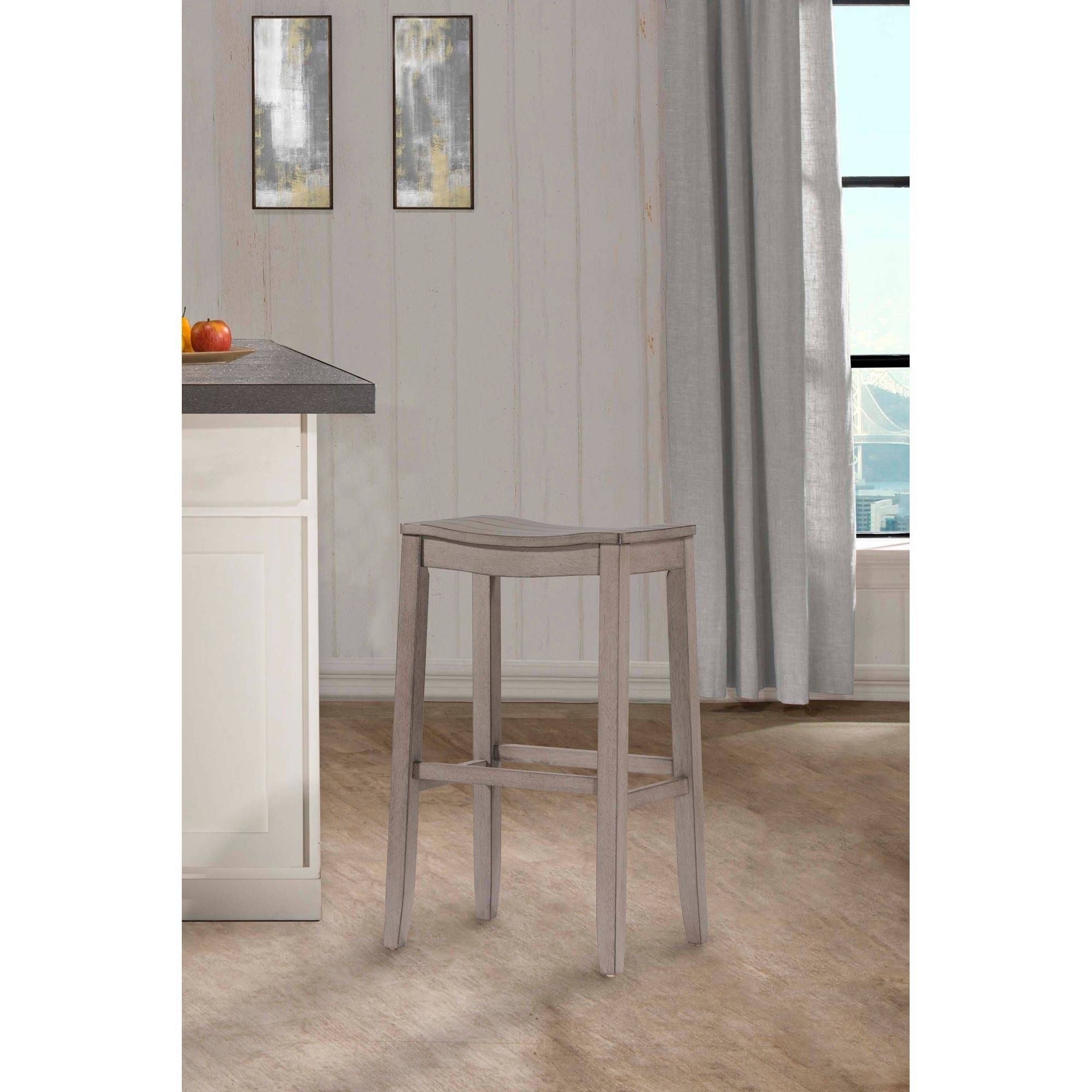 Wondrous The Gray Barn Chatterly Non Swivel Aged Grey Backless Pdpeps Interior Chair Design Pdpepsorg