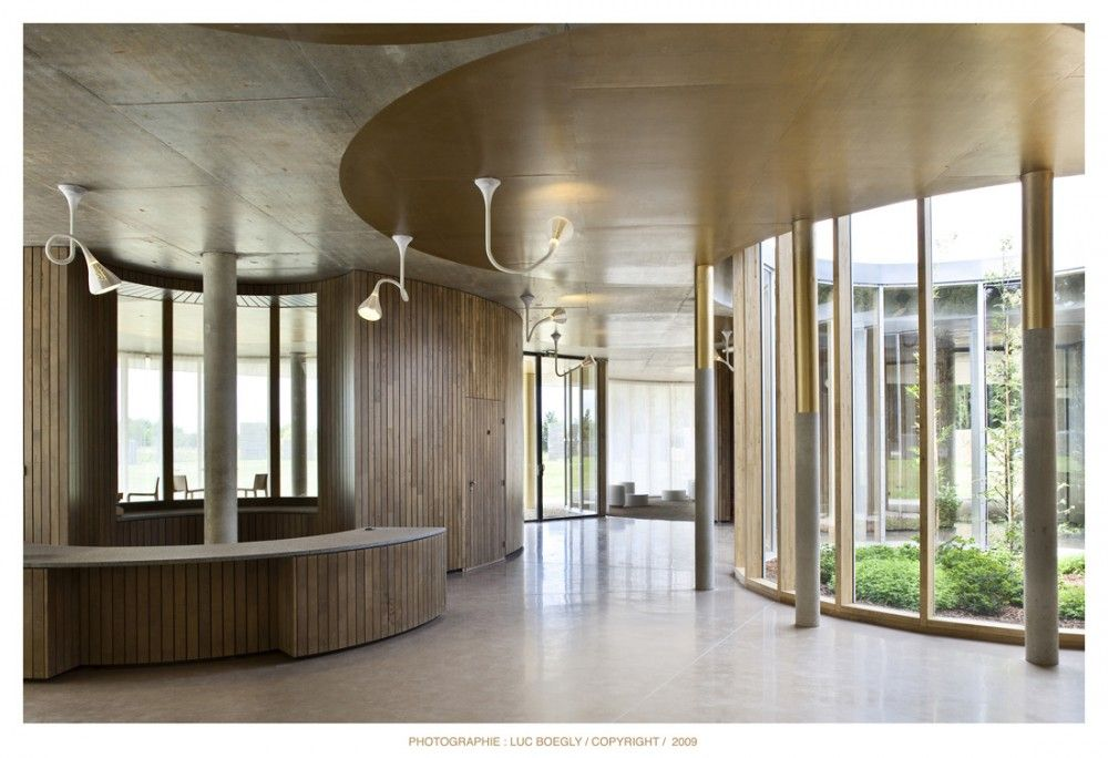 Rennes Metropole Crematorium Plan 01 Architecture Design Rennes