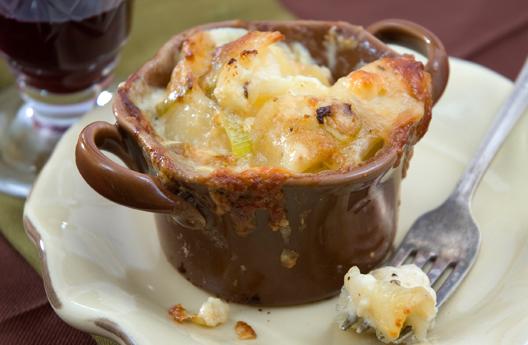 Potato & Cauliflower Gratin