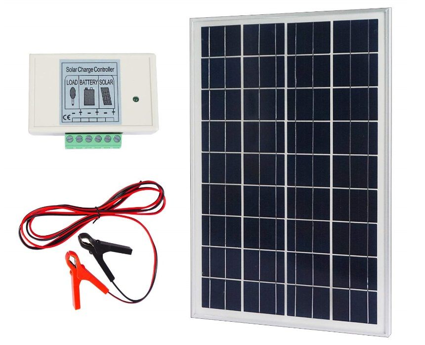 Eco Worthy 20w 12v Ip65 Solar Panel Kit 20w Solar Panels Solar Panel Kits Solar Panel Installation