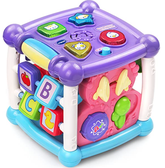 Kids VTech Kids Baby Turn /& Learn Cube Learning Musical Sound Color Toys Child A
