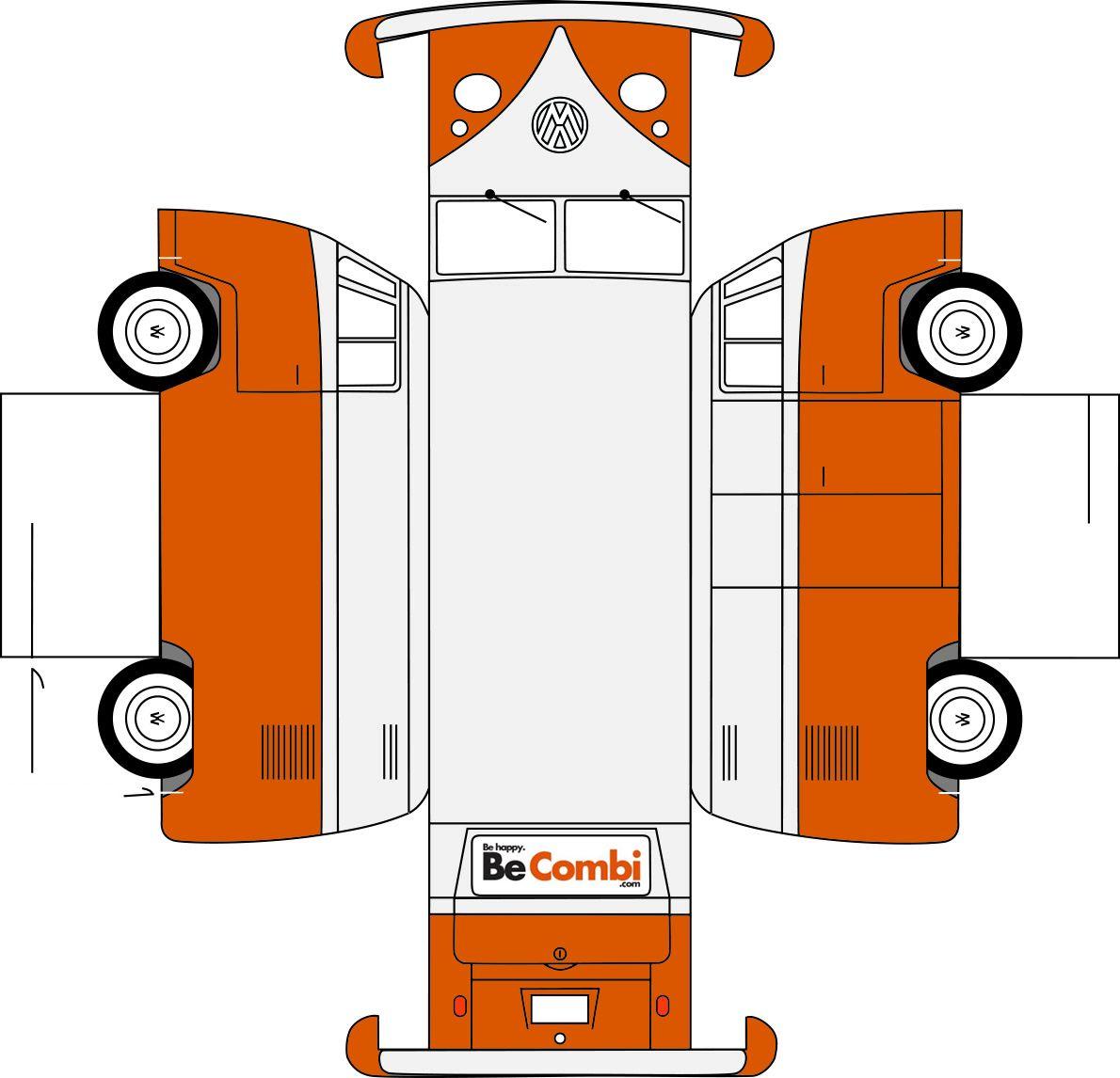 бумажные модели - транспорт