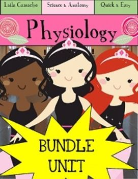 Great introduction to Physiology and anatomy for elementary students!