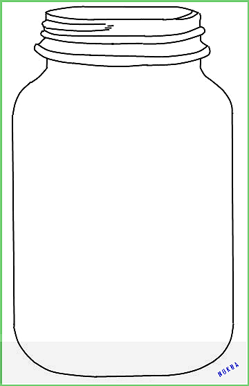 Mason Jar Printable Use To Create Fingerprint Lightning Bug Art For Kids Ellise M 2020 Cocuklar Icin Sanat Kavanoz Elisi Ajandalar