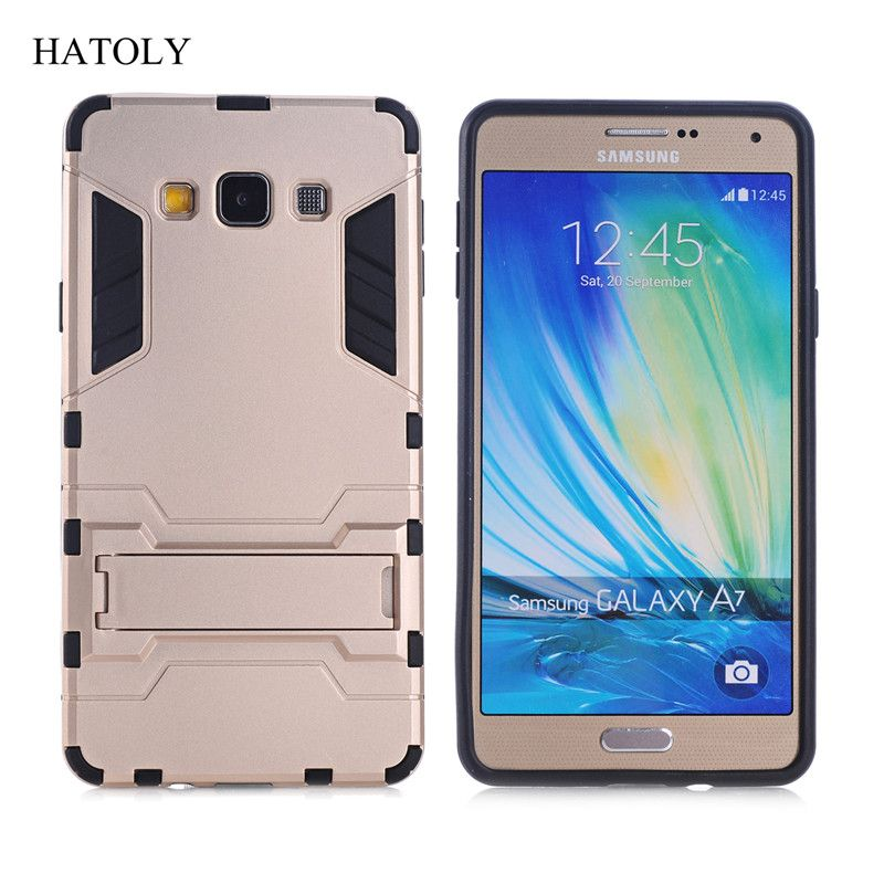 For Samsung Galaxy A7 2015 Case A700 A700f A7000 Robot Armor Case Hybrid Silicone Rubber Back Phone Cover For Samsung A7 2015 Samsung Galaxy Phone Phone Cover