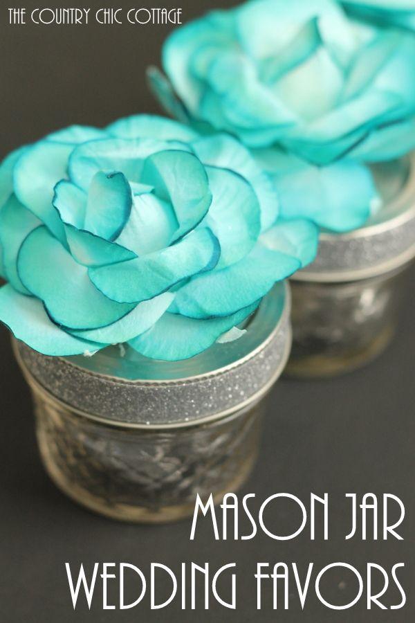Mason Jar Wedding Favors Bloggers Best Diy Ideas Pinterest