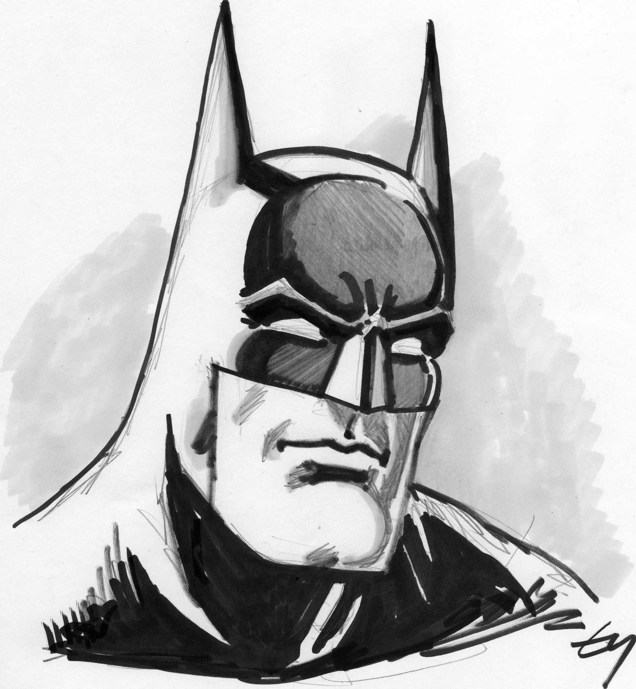 Line Drawing Batman | Drawing And Coloring For Kids | Illustration | Pinterest | Batman Drawing ...