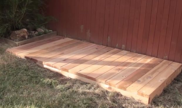 Diy Grill Hack Build A Platform For Your Grill Diy Grill Outdoor Grill Area Backyard Grilling Area