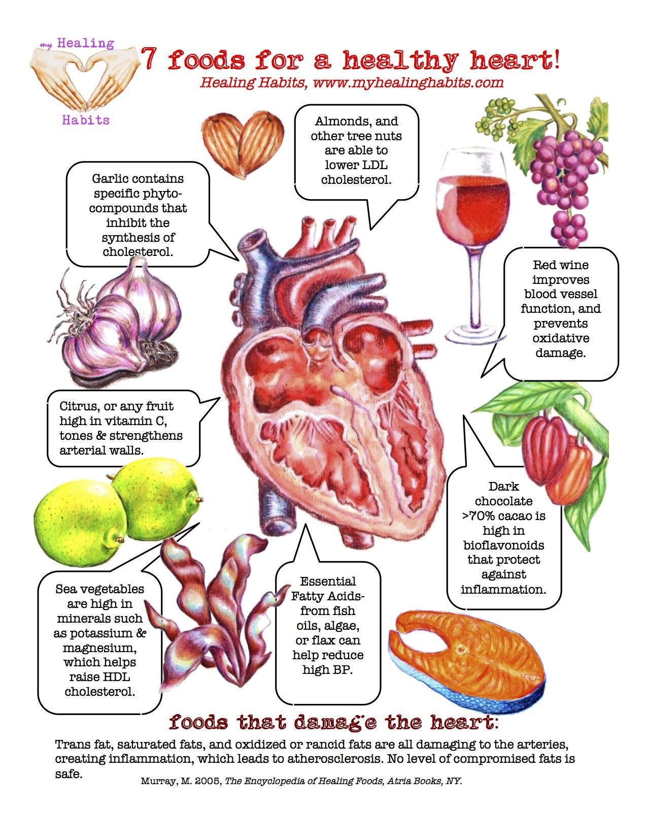 The most useful food for the heart 34