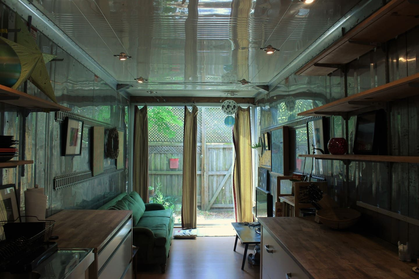 Living Tiny houses for rent, Cozy living rooms, Cozy living