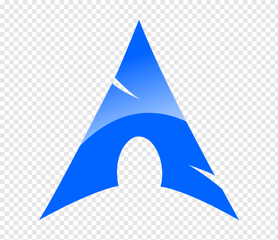 Triangle Shape Blue Arch Linux Computer Icons Mint Free Png Triangle Shape Computer Icon Linux