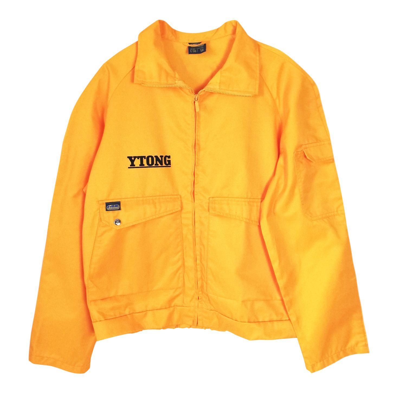 Veste Adidas vintage bleu jaune et blanc Vinted