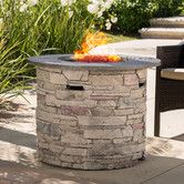 Found it at Wayfair - Playa Metal Propane Gas Fire Pit Table
