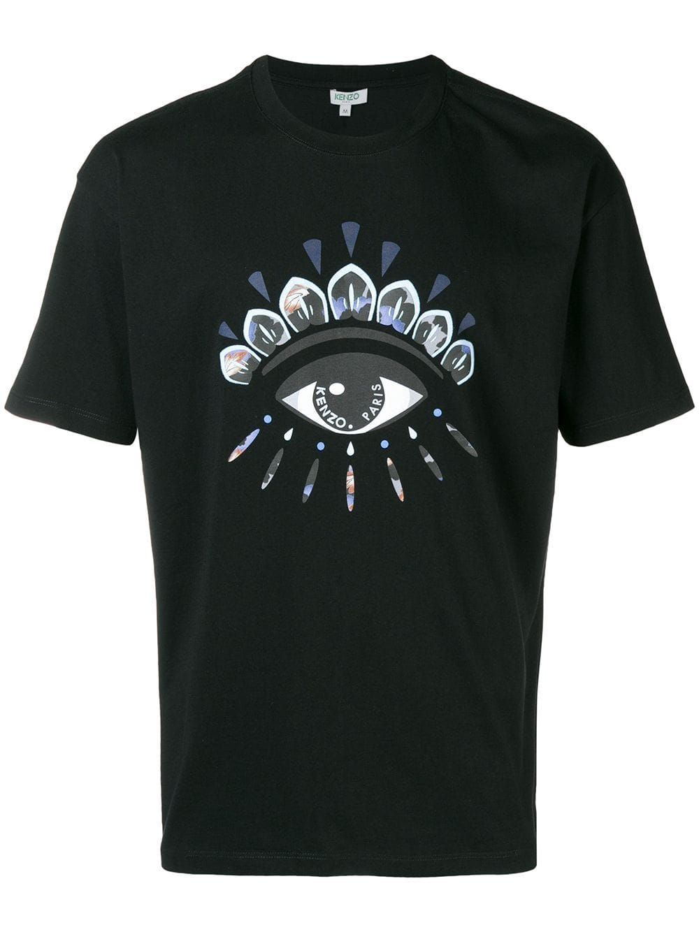 ad149ca249 Kenzo Indonesian Flower Eye T-shirt - Black | Products in 2019 ...