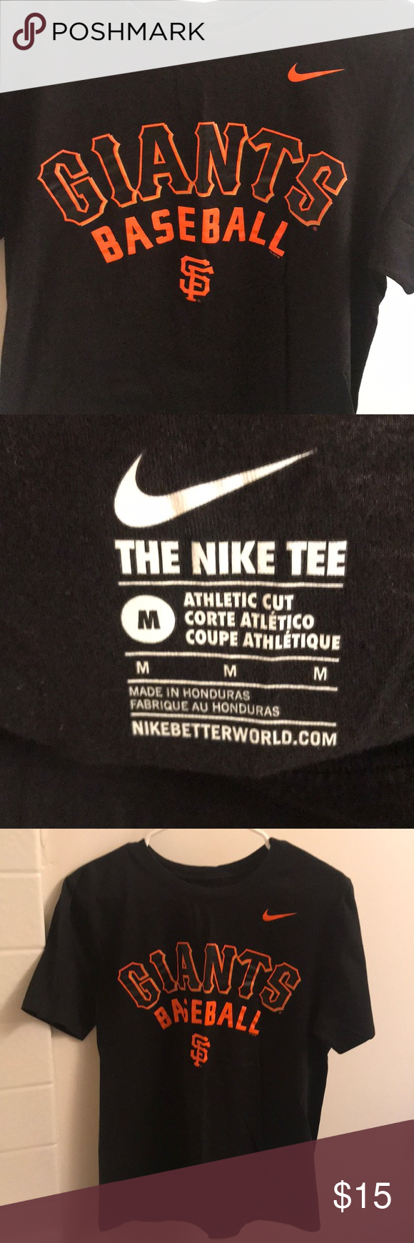 "ba3207d3 MENS Nike SF Giants T-Shirt Mens Nike Medium ""Athletic Cut"" T-Shirt, runs  small but in great condition Shirts Tees - Short Sleeve"