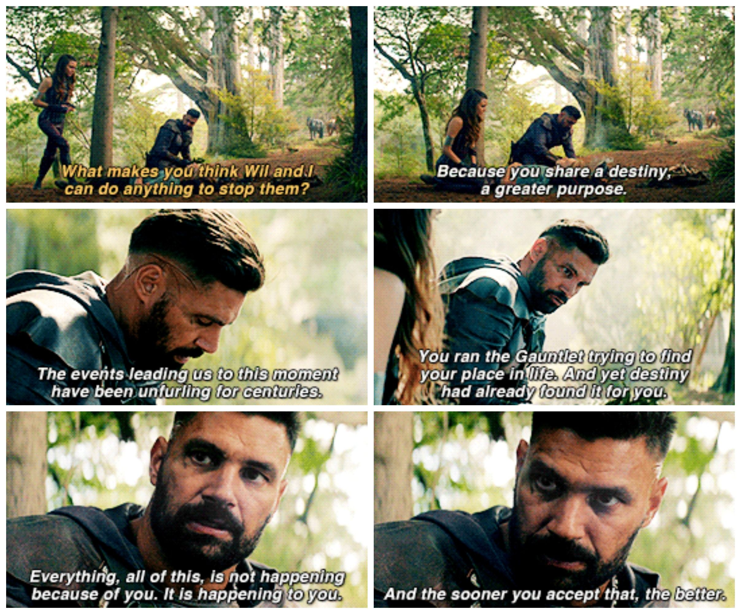 Theshannarachronicles 1x03 Fury Amberle And Allanon The