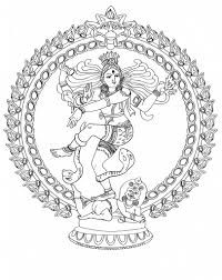Dancing Shiva Colouring Pages Google Search Coloring Pages