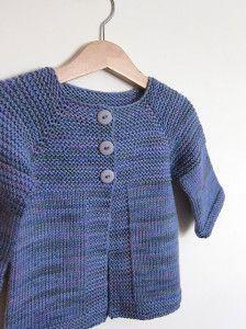 Photo of #stricken für kinder pullover Modello cardigan topdown