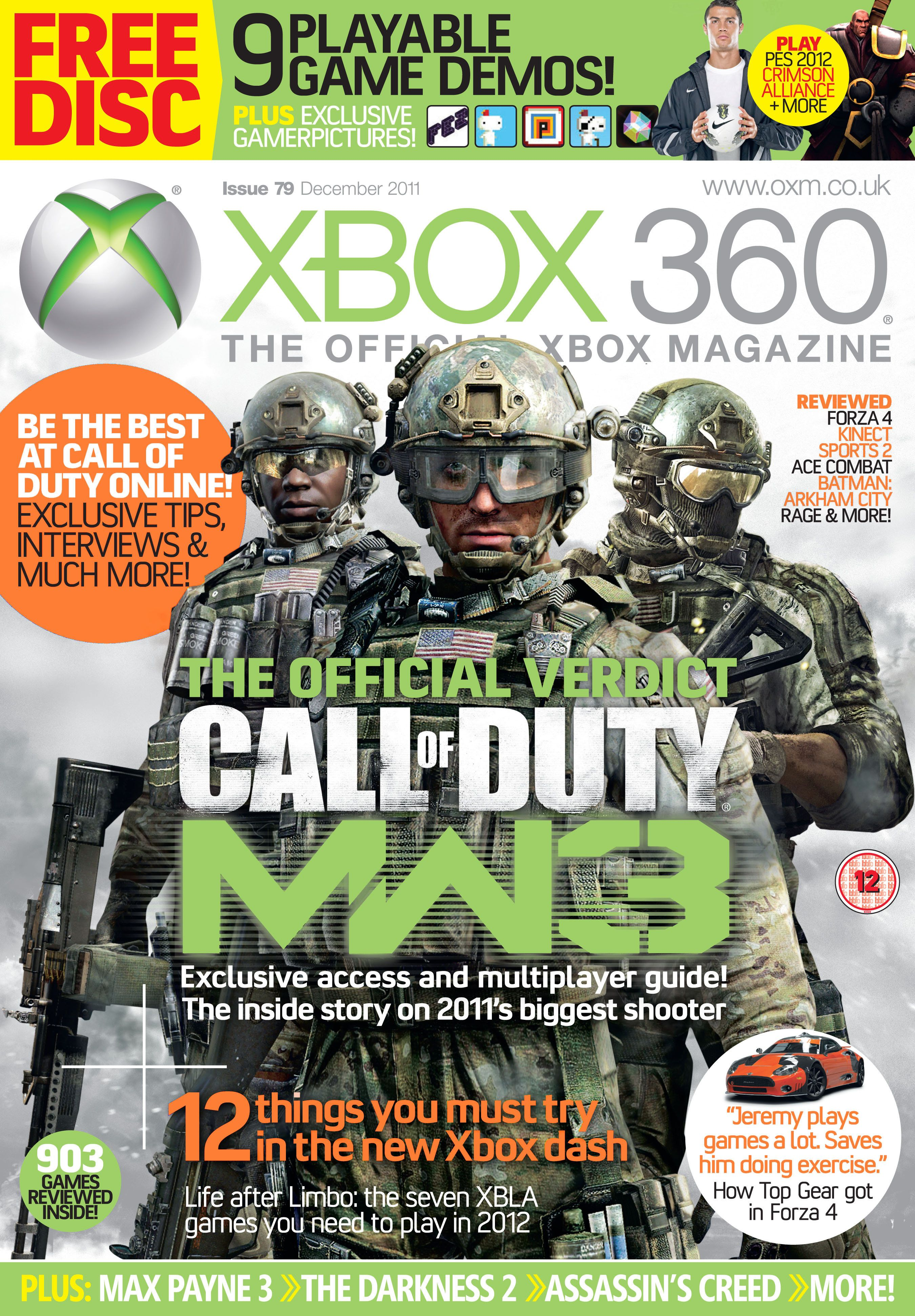 Xbox 360 The Official Magazine www.oxm.co.uk