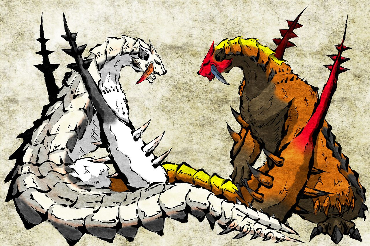 Monster Hunter Barioth And Sand Barioth Sin1 Monster Hunter