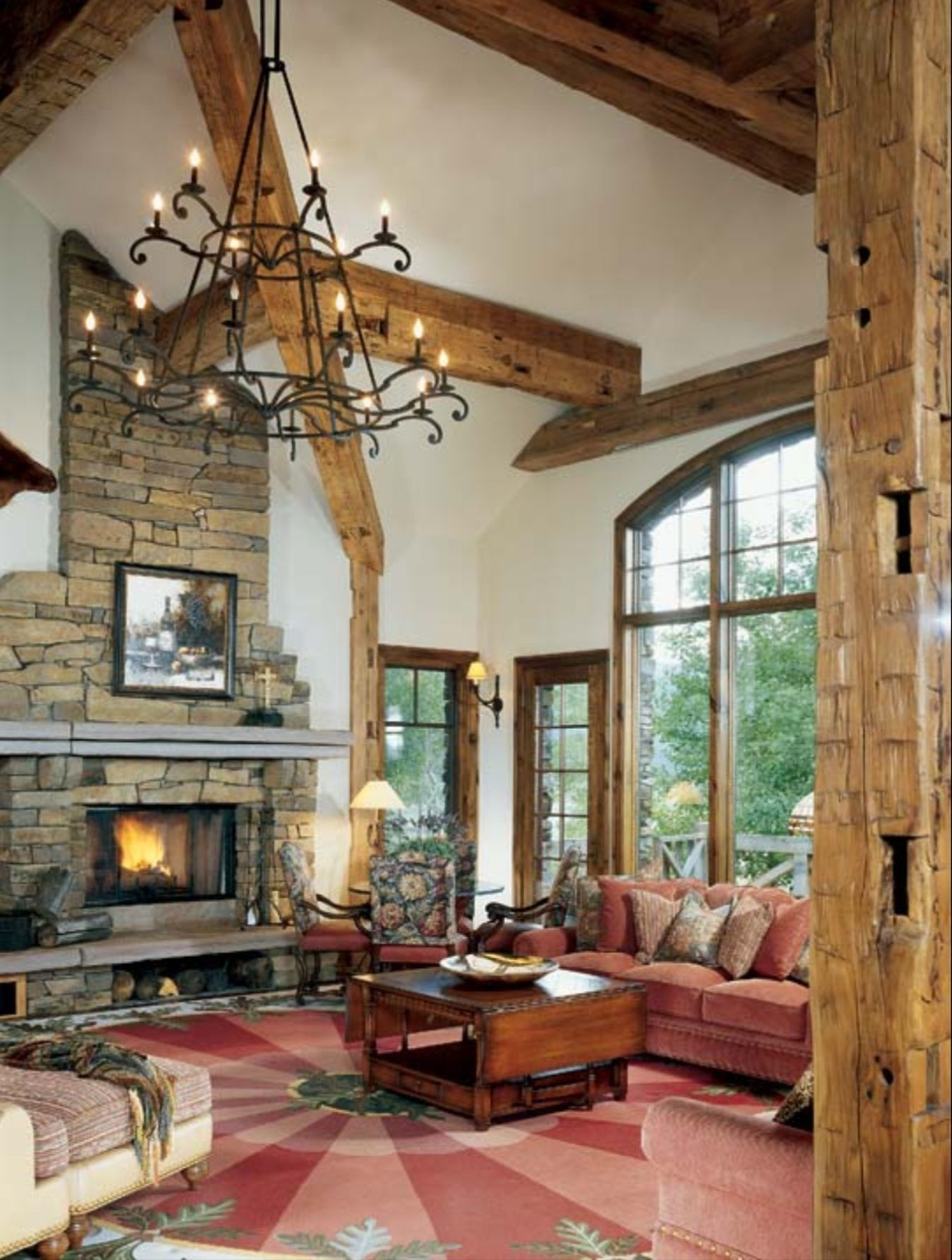 Timber Frame Lighting Building Ideas House