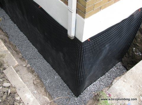 The most effective basement wall waterproofing method is - Sealing exterior cinder block walls ...