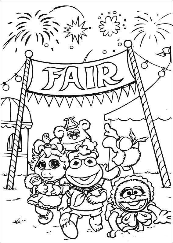 Muppets Coloring Pages 36 Baby Coloring Pages Disney Coloring Pages Toy Story Coloring Pages