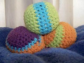 tangled happy: Juggling Balls