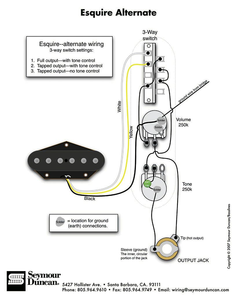 Esquire Wiring Diagram from i.pinimg.com