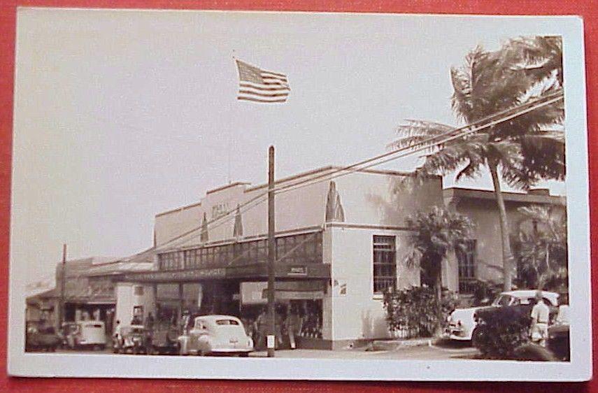 1940's Kress 5 &10 Main Street Wailuku Maui Flag TH Hawaii