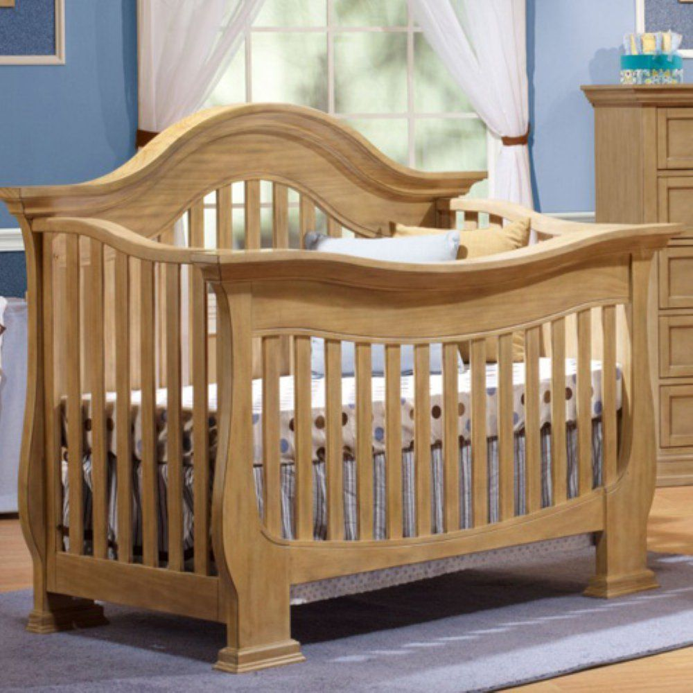 Turn crib into toddler loft bed  Lusso Nursery Century in Crib with Mini Rail Additional limited
