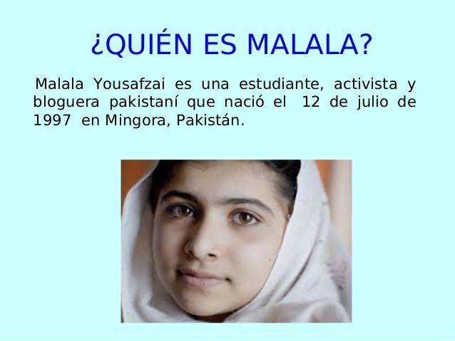 Image Result For Malala Biografia En Espanol With Images