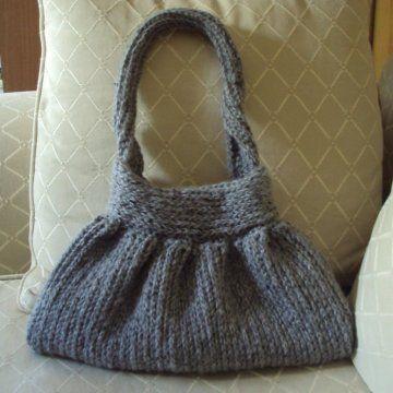 Knit-Look Crocheted Handbag Crochet Pattern PDF - Holland Designs Crochet, $4.99