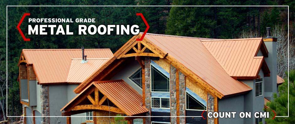 Construction Metals Inc Metal Roof Roof Storage Roofing