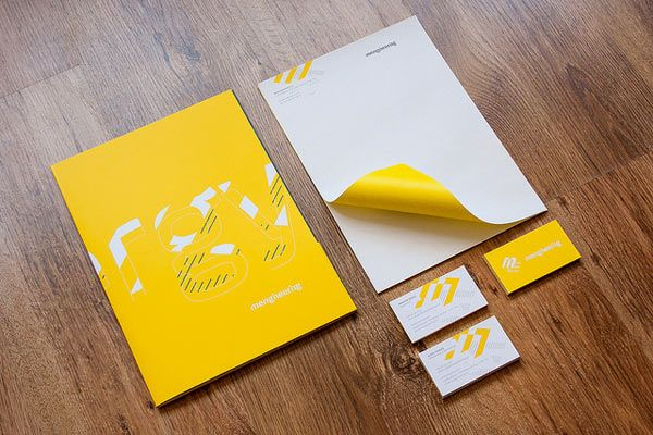 20 Inspiring Letterhead Designs Stationery design, Letterhead - corporate letterhead