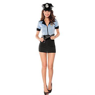 Pin em Policial Fantasia