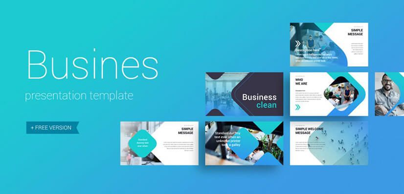 The Best Free Powerpoint Templates To Download In 2019 Graphicmama Blog Presentation Template Free Business Presentation Templates Presentation Templates
