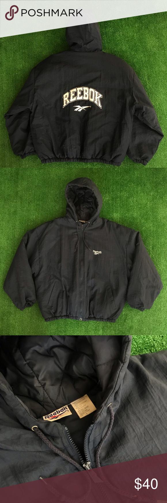 True 90 S Vintage Reebok Down Jacket Vintage Reebok Down Jacket Jackets [ 1740 x 580 Pixel ]