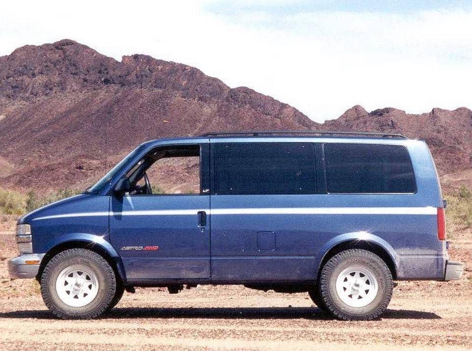 Overland Products Lift Kits Chevrolet Astro Chevy Astro Van Astro