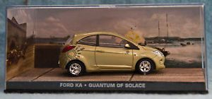 James Bond Car Collection No 60 Ford Ka Quantum Of Solice Bnib Bond Cars James Bond James Bond Cars