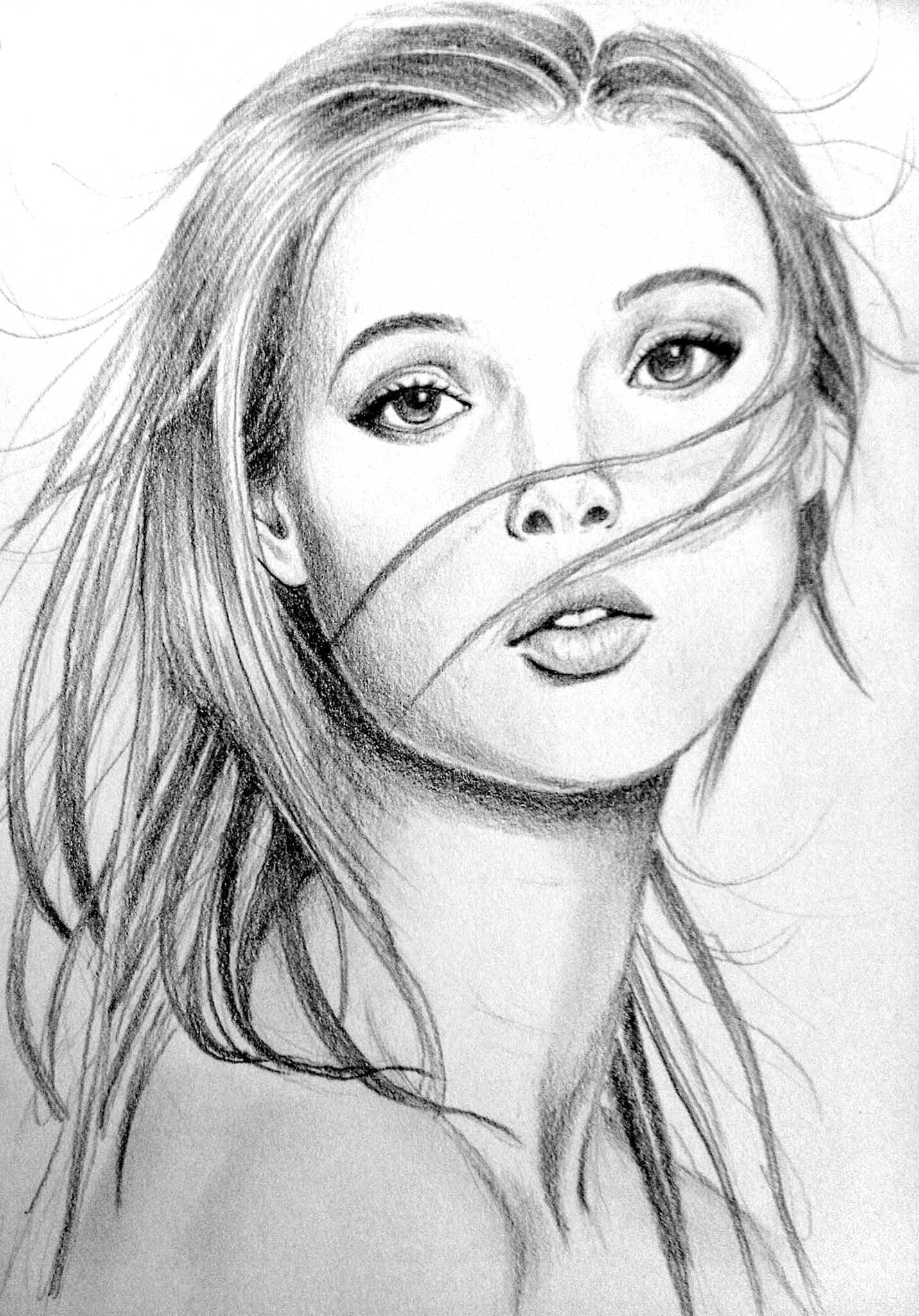 Pencil sketch 020414 @Novianny Widya