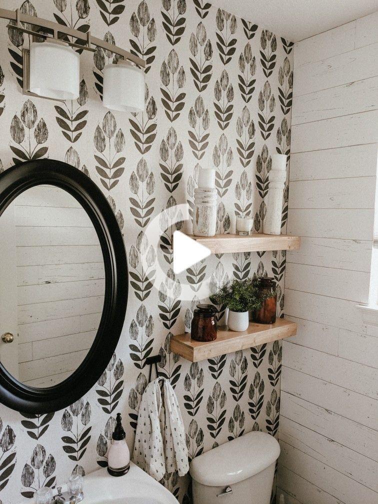 Est Ce Que Wallpaper Travail Sur Textures Murs En 2020 Salle De Bains Papier Peint Decoration Mur Chambre Decoration Maison